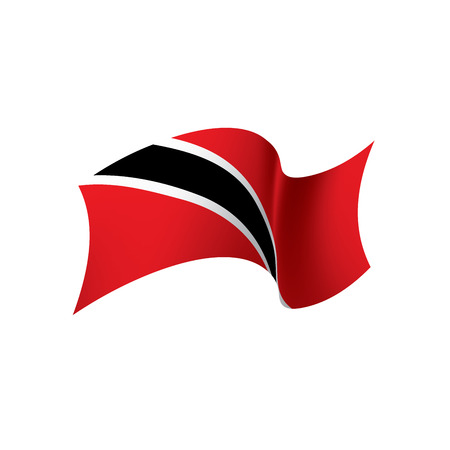 trinidad and tobago flag, vector illustration
