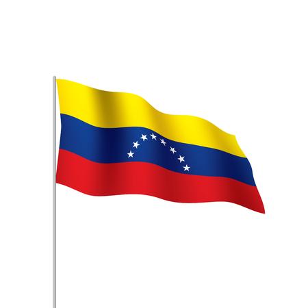 Venezuela flag, vector illustration Foto de archivo - 95690831