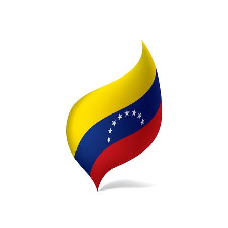 Venezuela flag, vector illustration