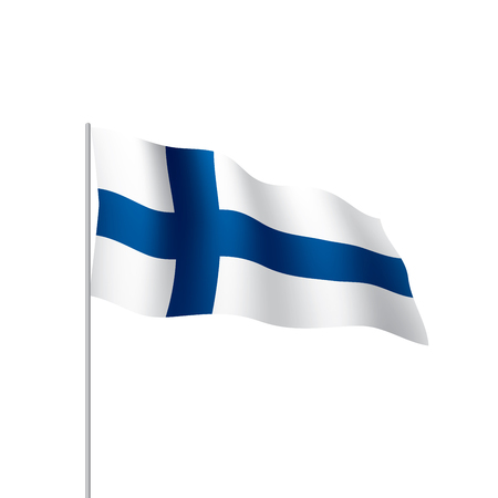 Finland flag vector illustration