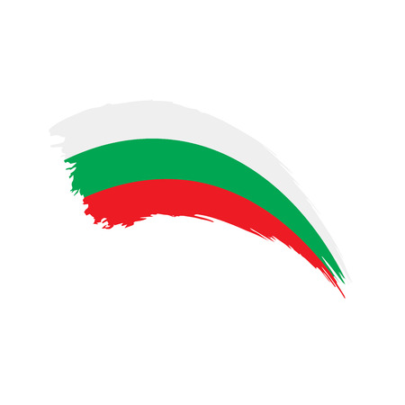 Bulgaria flag, vector illustration Illustration