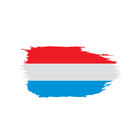 Netherlands flag, vector illustration 일러스트