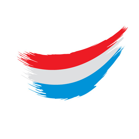 Netherlands flag, vector illustration  イラスト・ベクター素材