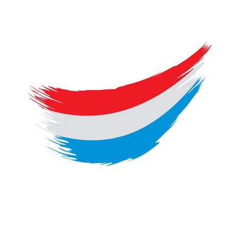 Netherlands flag, vector illustration 向量圖像