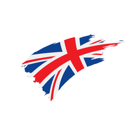 Flag of the United Kingdom, vector Banco de Imagens - 96237682