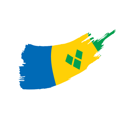 Saint Vincent and the Grenadines flag