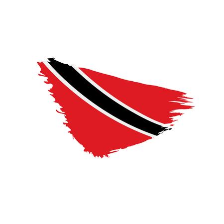 trinidad and tobago flag, vector illustration