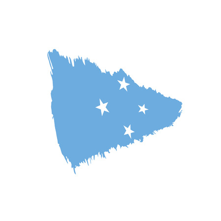 Federated States Micronesia flag