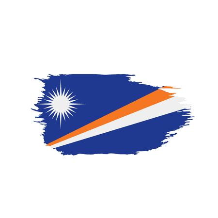 Marshall Islands flag, vector illustration 版權商用圖片 - 97130056