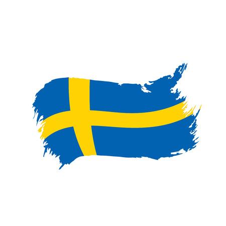 スウェーデン国旗、ベクトルイラスト