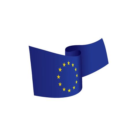 European union flag, vector illustration