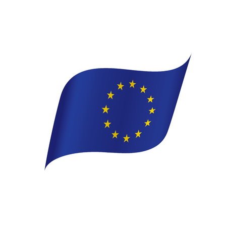 European union flag, vector illustration