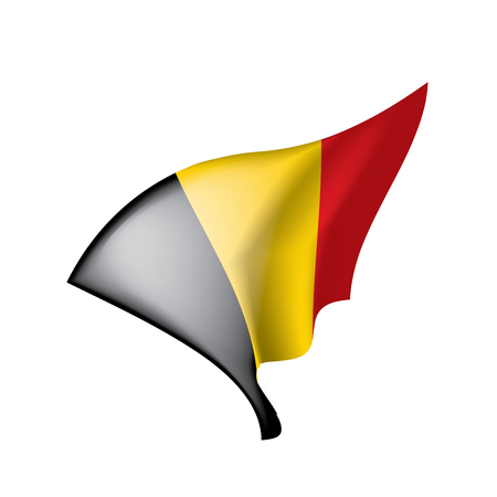 Flag of Belgium, Vector illustration