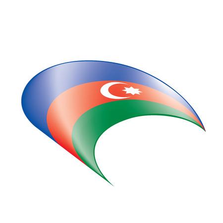 Azerbaijan flag, vector illustration Illustration