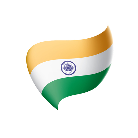 India flag, vector illustration