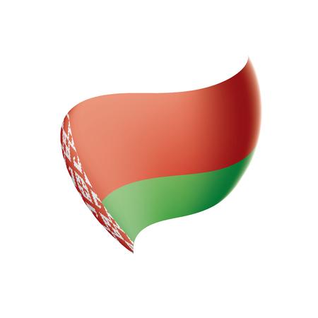 Belarus flag, vector illustration Illustration