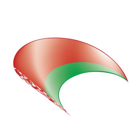 Belarus flag, vector illustration Иллюстрация