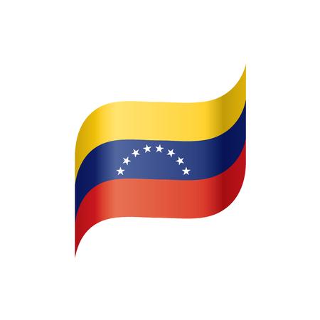 Venezuela flag, vector illustration Foto de archivo - 99934262