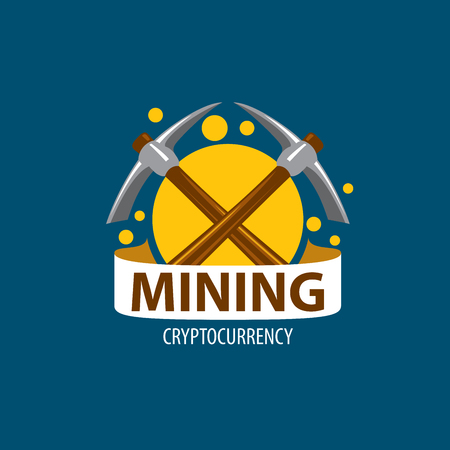 Digital currency mining Stock Photo