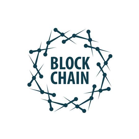 Vector blockchain Illustration