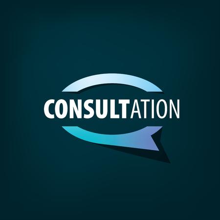 Inscrivez-vous pour une consultation en ligne. Illustration vectorielle de l'icône. Vecteurs