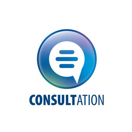 Inscrivez-vous pour une consultation en ligne. Illustration vectorielle de l'icône.