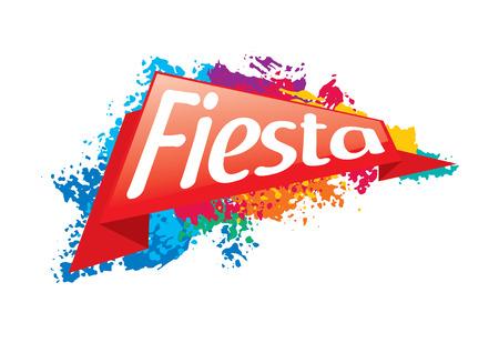 Abstract   for the Fiesta. Vector illustration Illustration