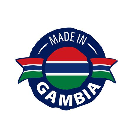Gambia flag, vector illustration on a white background 스톡 콘텐츠 - 133562413