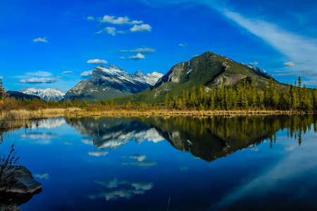 Vermillion Lakes, Banff National Park, Alberta, Canada Stock Photo - 96217725