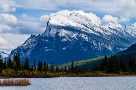 Vermillion Lakes, Banff National Park, Alberta, Canada Stock Photo - 96199066