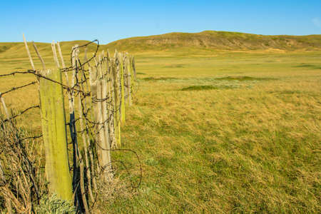 Dixon Ranch, Grasslands National Park,Saskatchewan, Canada Stock Photo