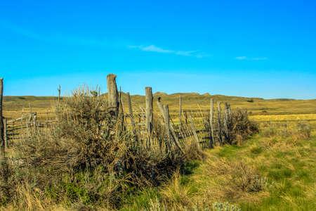 Dixon Ranch, Grasslands National Park,Saskatchewan, Canada Stock fotó