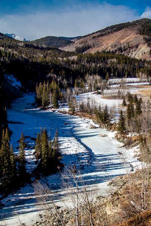 From the roadside, Sheep River Provincial Recreation Area, Alberta, Canada