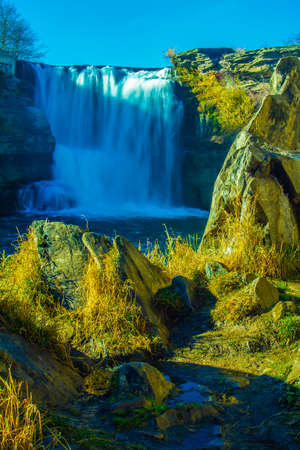 Twin falls, Lundbreck Falls Provincial Recreation Area