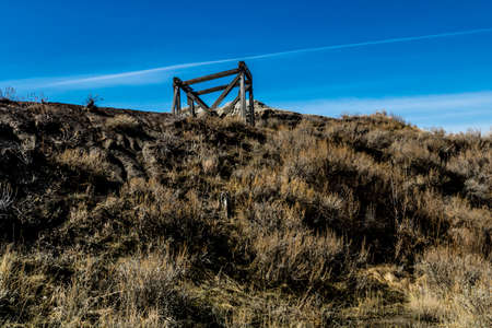 Star Coal Mine, Canadian Badlands, Drumheller, Alberta, Canada