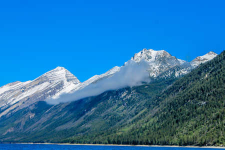 Lake Minnewanka with its striking blue waters, boat tours and hiking trails is always a visitors destination when in Banff