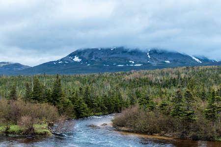 Gros Morne Mountain, Gros Morne National Park, Newfoundland, Canada Stock Photo