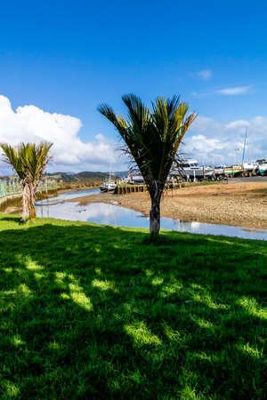 Views along the shoreline, Whangarahi Reserve, Coromandel, New Zealand