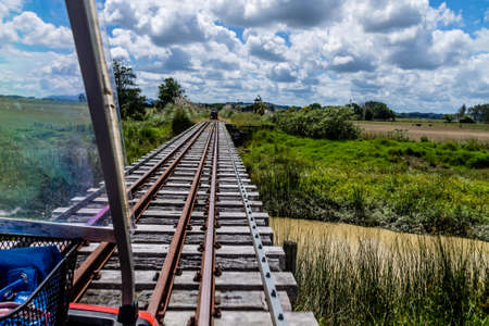 ranches, wide open spaces, lush fields and a small railway as well as river runs through it highlight a trip to Dagarville.