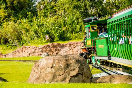 Views while walking around Busch Gardens, Tampa, Florida, United States