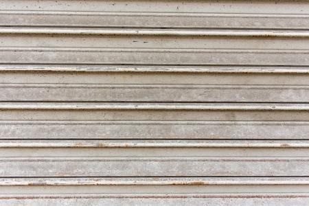 metalic texture: White metalic garage door texture