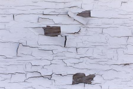 Peeling paint off wood texture photo