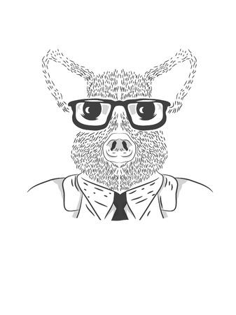 mr: MR. Mouse Business Illustration