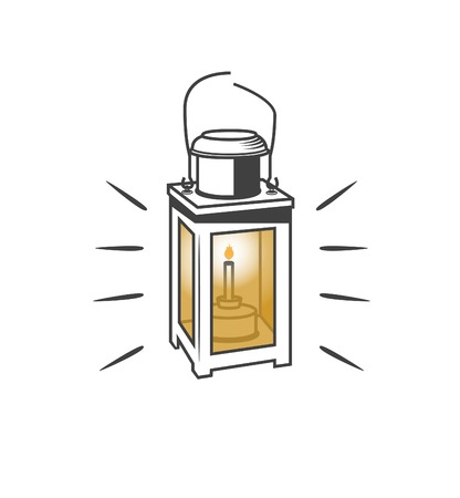 old lamp: Old Lamp Vector