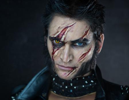 wolverine: Professional make-up werewolf Wolverine