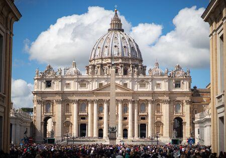 Vatican, Rome, St. Peter's Basilica eternal city - Rome