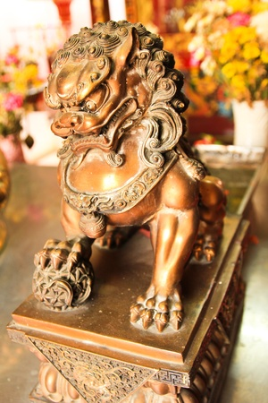chinesse: lion, Chinesse, Thailand