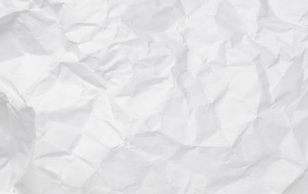 papel quemado: Textura de papel blanco arrugado para el fondo.