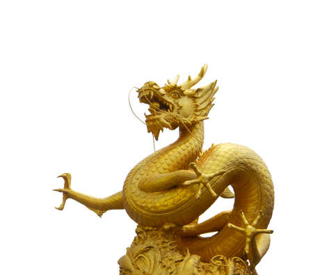 The great golden dragon