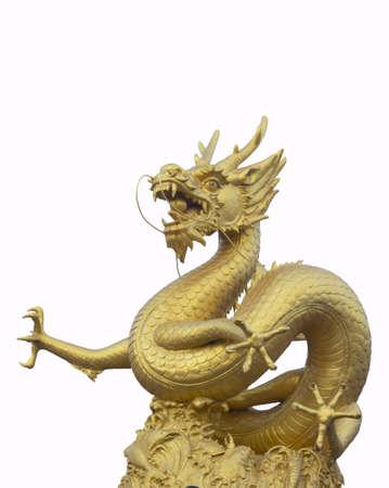 Great golden dragon photo